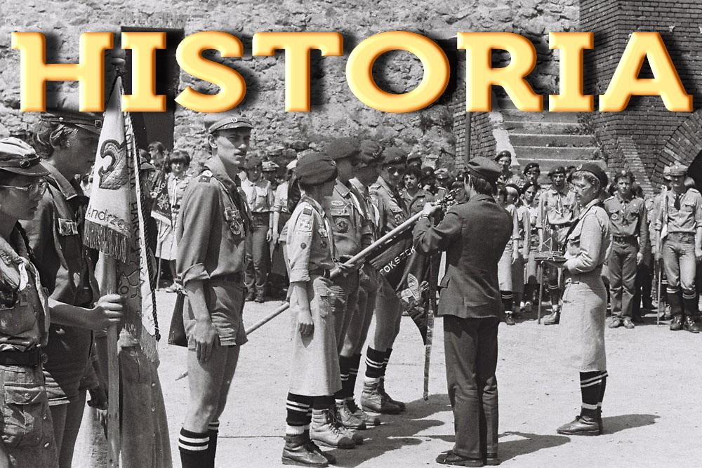HISTORIA 29ŚDH DĘBY 1982 - 1985