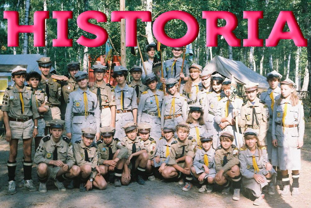HISTORIA 29 ŚDH DĘBY 1996 - 2000