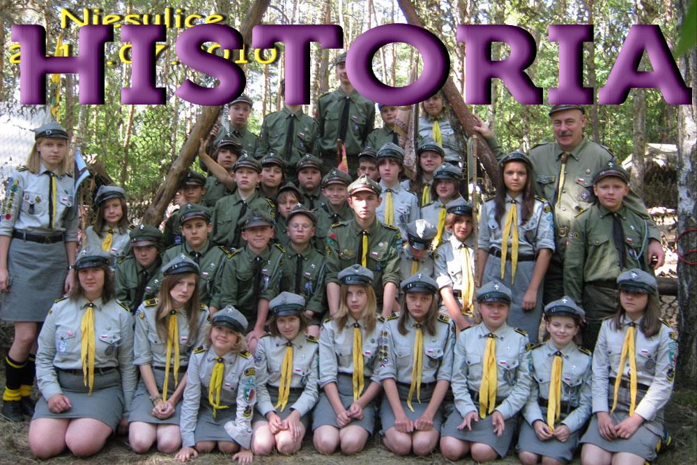 HISTORIA 29 ŚDH DĘBY 2001 - 2005
