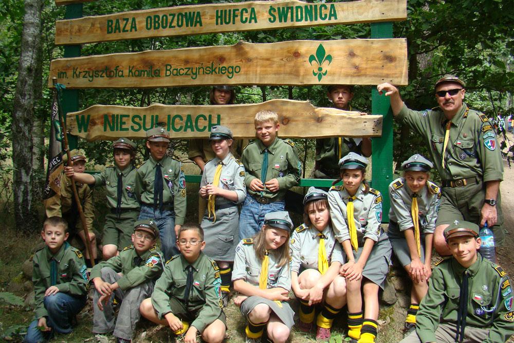 Obóz w Niesulicach 3-17.07.2015
