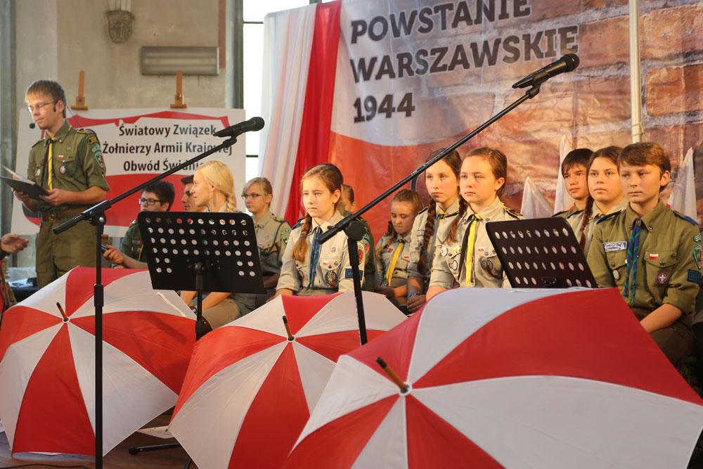 Baszta Kominek Harcerski w 75 rocznicę Szarych Szeregów