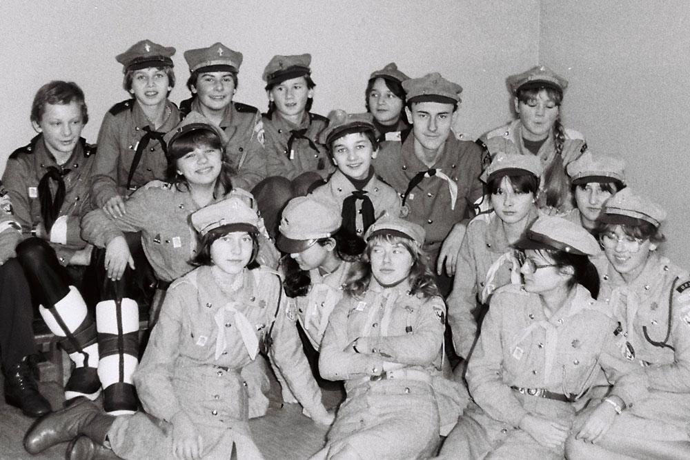 HARCERSKIE POGOTOWIE ZIMOWE 12-13 GRUDNIA 1981