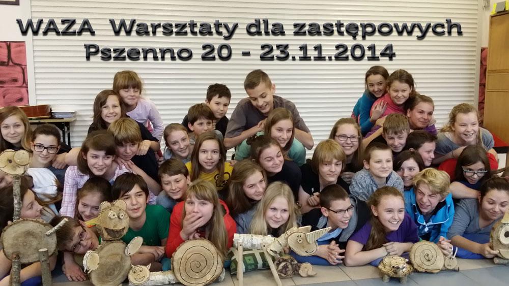 WAZA warsztaty dla zastępowych Pszenno 23.11.2014